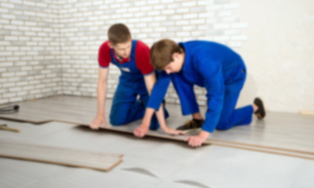 laminate floor covering